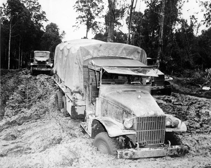 2 - 1 -Red_Ball_Express_-_Truck_in_the_mud